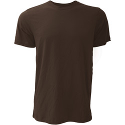 Textiel Heren T-shirts korte mouwen Bella + Canvas Jersey Bruin