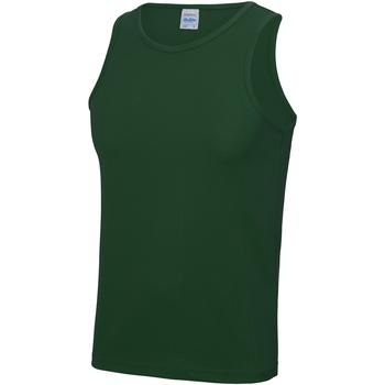 Textiel Heren Mouwloze tops Just Cool JC007 Fles groen