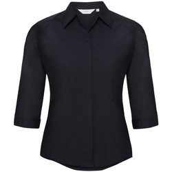 Textiel Dames Overhemden Russell 926F Franse marine