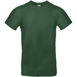 Textiel Heren T-shirts korte mouwen B And C E190 Fles groen
