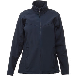 Textiel Dames Windjacken Regatta Softshell Marine/Navy