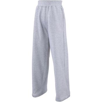 Textiel Kinderen Trainingsbroeken Awdis JH71J Heide Grijs