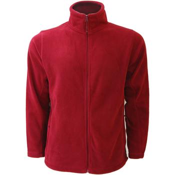 Textiel Heren Fleece Russell 8700M Klassiek rood