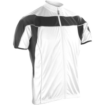 Textiel Heren Fleece Spiro Performance Wit / Zwart