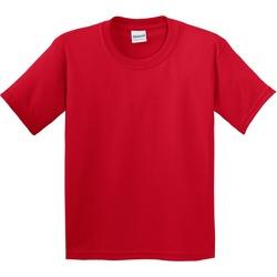 Textiel Kinderen T-shirts korte mouwen Gildan 5000B Rood