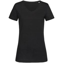 Textiel Dames T-shirts korte mouwen Stedman Stars Sharon Zwart