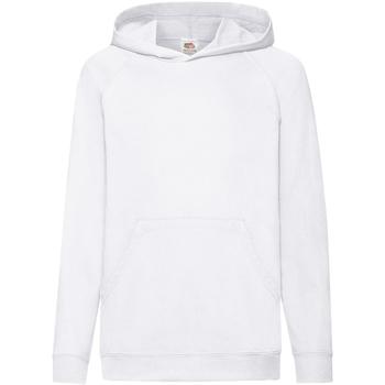 Textiel Kinderen Sweaters / Sweatshirts Fruit Of The Loom Hooded Wit