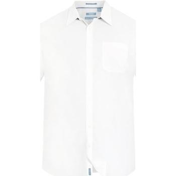 Textiel Heren Overhemden korte mouwen Duke Classic Wit