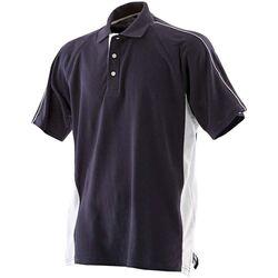 Textiel Heren Polo's korte mouwen Finden & Hales LV322 Marine / Wit