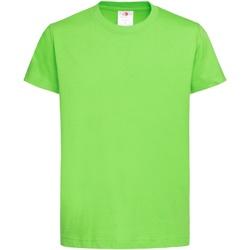 Textiel Kinderen T-shirts korte mouwen Stedman Organic Kiwi
