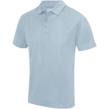 Textiel Heren Polo's korte mouwen Awdis JC040 Hemelsblauw
