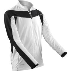 Textiel Heren Trainings jassen Spiro Performance Wit / Zwart