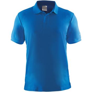 Textiel Heren Polo's korte mouwen Craft Pique Zweeds Blauw
