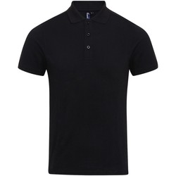 Textiel Heren Polo's korte mouwen Premier Coolchecker Zwart