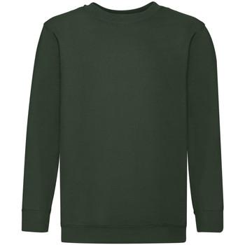 Textiel Kinderen Sweaters / Sweatshirts Fruit Of The Loom 62041 Bottle Groen
