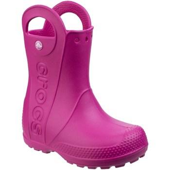 Schoenen Kinderen Regenlaarzen Crocs  Snoepjesroze