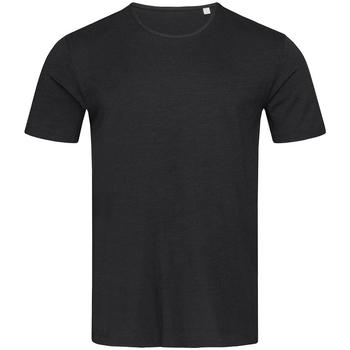 Textiel Heren T-shirts korte mouwen Stedman Stars Shawn Zwart