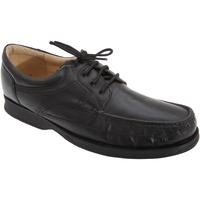 Schoenen Heren Derby Roamers Softie Zwart