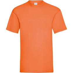 Textiel Heren T-shirts korte mouwen Universal Textiles Casual Helder oranje