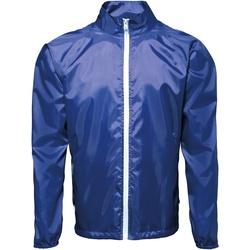 Textiel Heren Windjacken 2786 TS011 Koninklijk / Wit