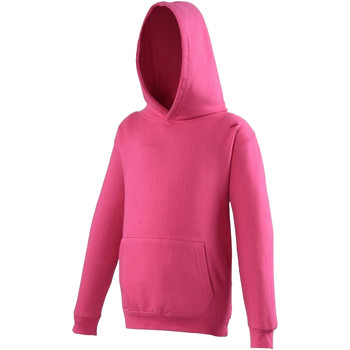 Textiel Kinderen Sweaters / Sweatshirts Awdis Hooded Heet Roze