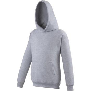 Textiel Kinderen Sweaters / Sweatshirts Awdis Hooded Heide Grijs