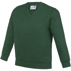Textiel Kinderen Sweaters / Sweatshirts Awdis Just Cool Groen