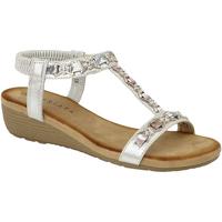 Schoenen Dames Sandalen / Open schoenen Cipriata Lia Zilver