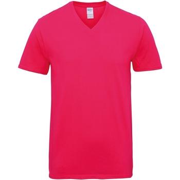 Textiel Heren T-shirts korte mouwen Gildan GD016 Heliconia