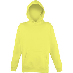 Textiel Kinderen Sweaters / Sweatshirts Awdis Hooded Elektrisch Geel