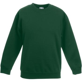 Textiel Kinderen Sweaters / Sweatshirts Fruit Of The Loom Classic Bottle Groen