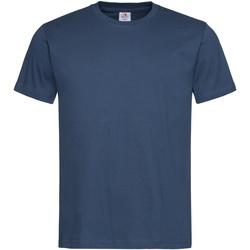 Textiel Heren T-shirts korte mouwen Stedman Stars Organic Navy