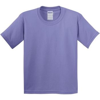 Textiel Kinderen T-shirts korte mouwen Gildan 5000B Violet