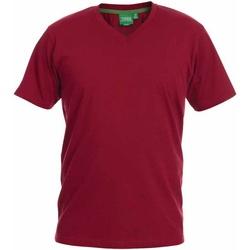 Textiel Heren T-shirts korte mouwen Duke Signature Rood
