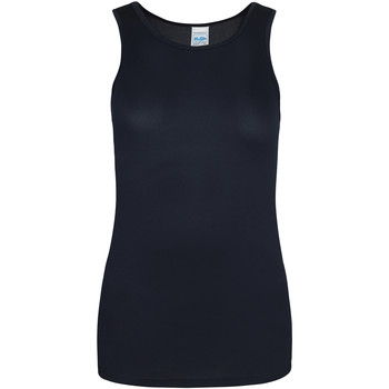 Textiel Dames Mouwloze tops Just Cool Girlie Franse marine