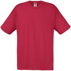 Textiel Heren T-shirts korte mouwen Universal Textiles 61082 Donkerrood