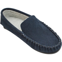 Schoenen Heren Sloffen Eastern Counties Leather Moccasin Marine