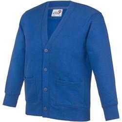 Textiel Kinderen Vesten / Cardigans Awdis Academy Koningsblauw