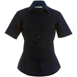 Textiel Dames Overhemden Kustom Kit Business Donkere marine