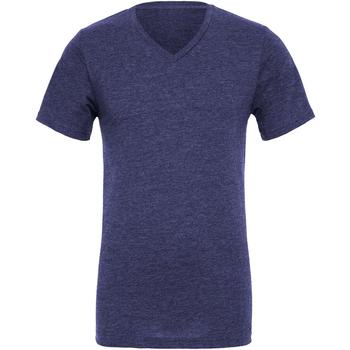 Textiel Heren T-shirts korte mouwen Bella + Canvas Jersey Marineblauw