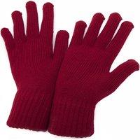 Accessoires Dames Handschoenen Universal Textiles  Rood