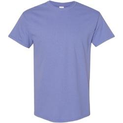 Textiel Heren T-shirts korte mouwen Gildan Heavy Violet