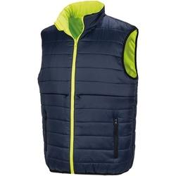 Textiel Heren Vesten / Cardigans Result Safety Fluorescerend Geel/Zwaar