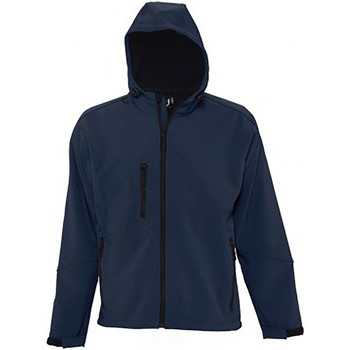 Textiel Heren Windjacken Sols Hooded Franse marine