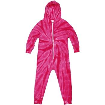 Textiel Kinderen Pyjama's / nachthemden Colortone Die Tye Spin Roze