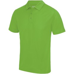Textiel Heren Polo's korte mouwen Awdis JC040 Kalk groen