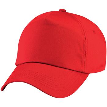 Accessoires Kinderen Pet Beechfield Baseball Helder rood