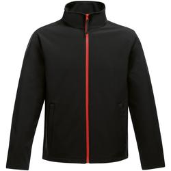 Textiel Heren Windjacken Regatta TRA628 Zwart/Klassiek Rood
