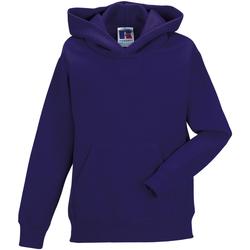 Textiel Kinderen Sweaters / Sweatshirts Jerzees Schoolgear Hooded Paars