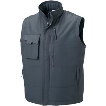 Textiel Heren Jacks / Blazers Russell Work Konvooi Grijs
